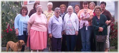 Mount Pleasant Ladies Breakfast 9/14/13