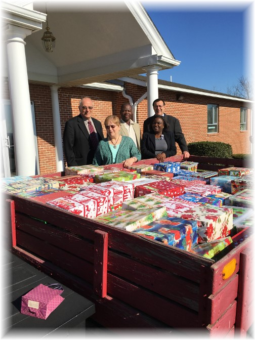 Operation Christmas Child boxes 11/15/15
