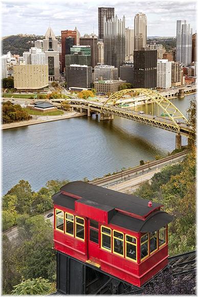 Pittsburgh incline (photo by Howard Blichfeldt)