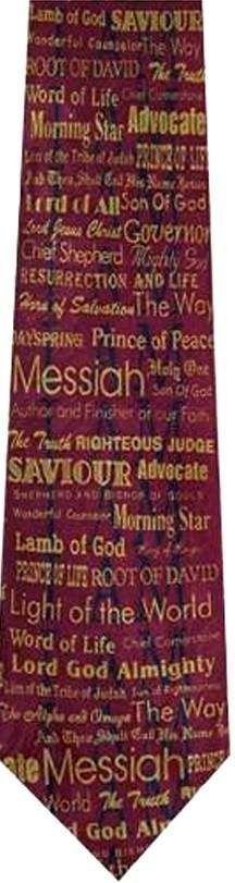Names of God tie