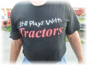 Tractor t-shirt at Etown fair 8/22/13