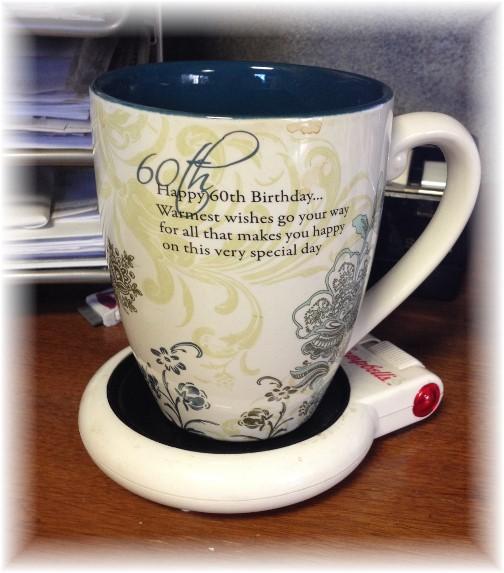 Brooksyne's 60th birthday mug