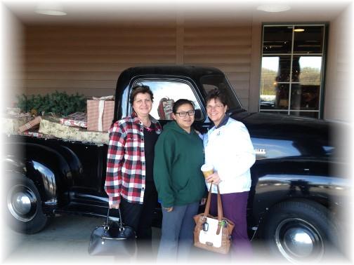 Brooksyne, Ester and Elaine 11/25/15