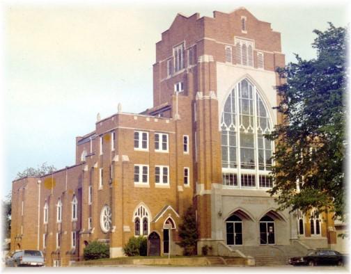 Church where we had our wedding