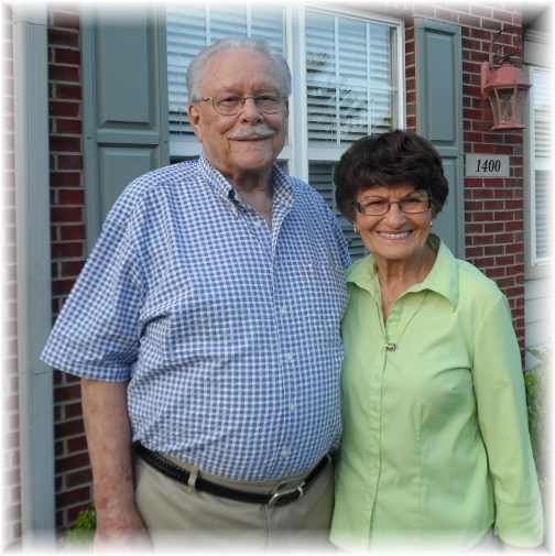Don and Mary Weber 7/7/13
