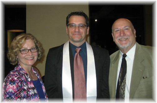 Patrick Weber ordination with parents Pat and Laverne 5/6/15