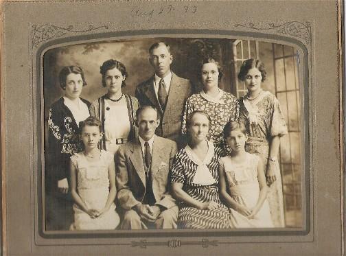 Steincross Family photo 8/27/33
