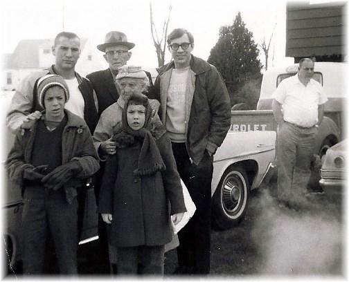 Stephen's family January 1966