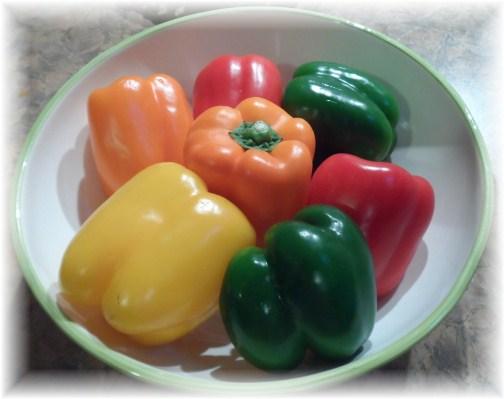 Peppers for pepper jam