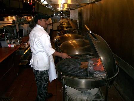 Weber Grill Restaurant indoor grills 3/25/10