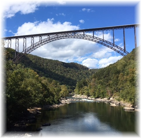 New River Bridge, West Virginia Photo by Keith Felizzi