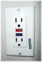 GFI receptacle