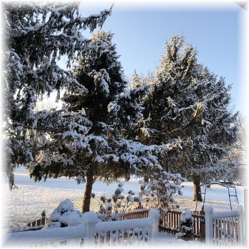 First seasonal snow 12/10/17