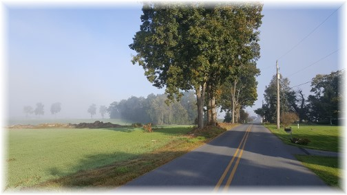 Kraybill Church Road morning 10/15/16
