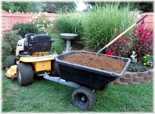 Soil for lawn and gardens 8/27/13