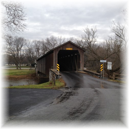 Hunsecker's Mill Covered Bridge 12/28/14