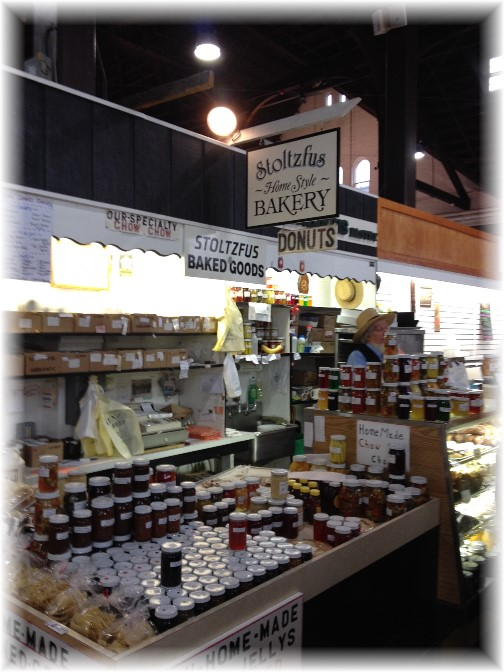 Central Market stand, Lancaster, PA