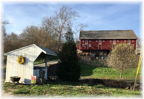 Conoy Township barn 4/9/17