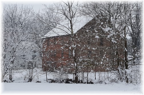 Donegal Mill, Mount Joy, PA 2/9/16 (Click to enlarge)