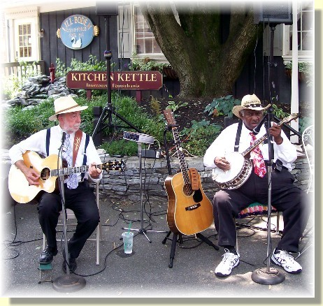 """Banjo Jimmy & his Rose Ramblers at the Kitchen Kettle Village"
