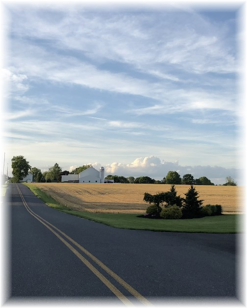 Kraybill Church Road view 5/20/18