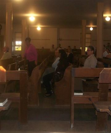 Kreiders Church hymn sing Lancaster County, PA