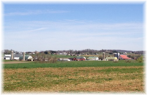 Lancaster countryside 4/16/15