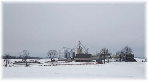 Lancaster County farm in snow 3/18/17 (Click to enlarge)