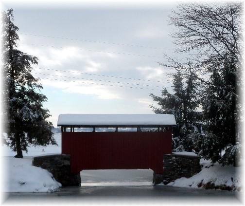 Longanecker Covered Bridge 12/15/13