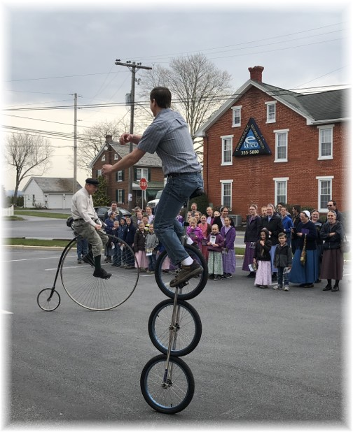 Demonstration at Martin Bike Shop 4/12/18