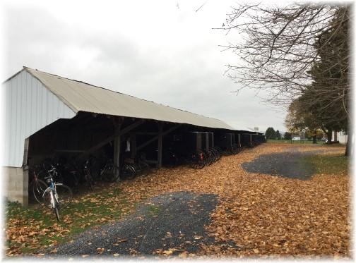 Old order parking Lancaster County 11/11/15