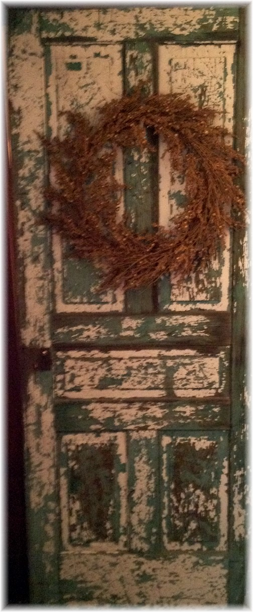 Poole Forge ironmaster's mansion door 12/7/14