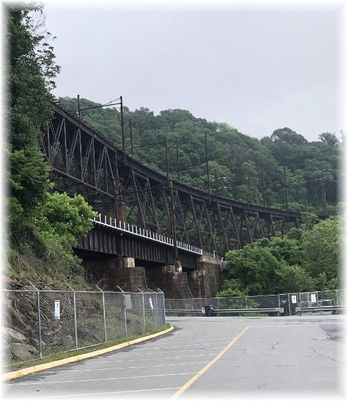 Safe Harbor trestle, Lancaster County, PA 6/1/18 (Click to enlarge)