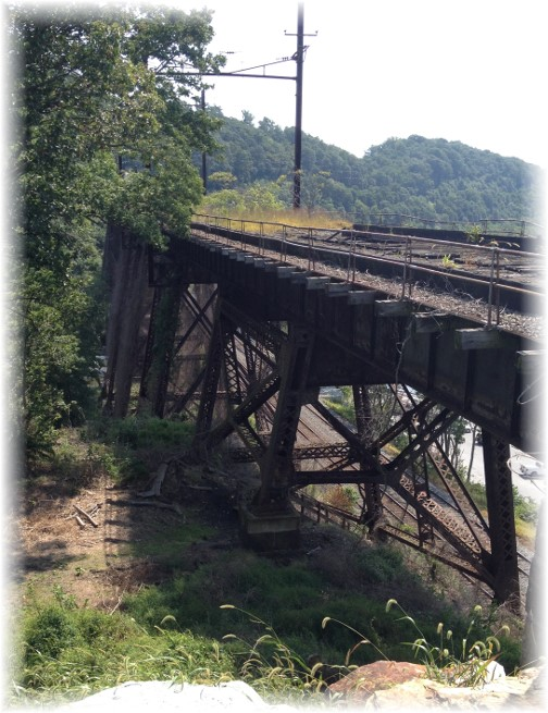 Safe Harbor trestle 8/30/15