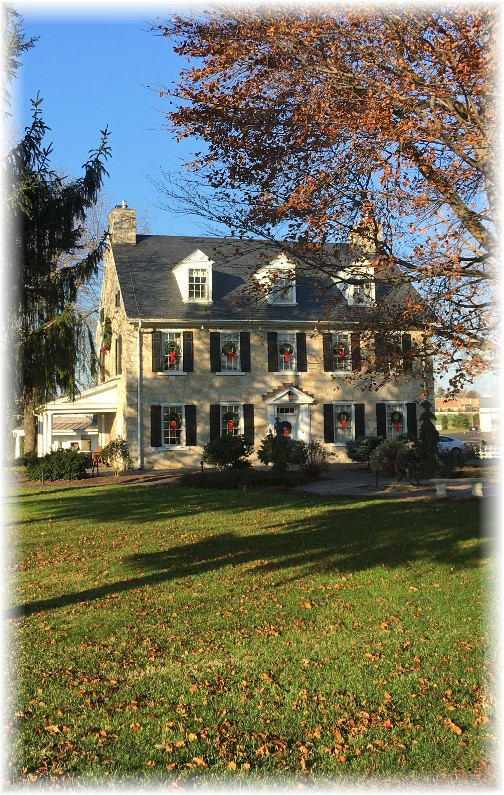Silverstone Inn, Lancaster County, PA 12/4/15