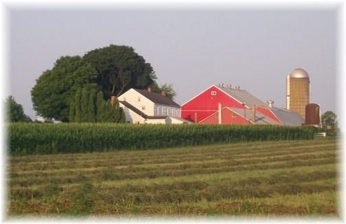 Stasburg Road farm in Lancaster County PA