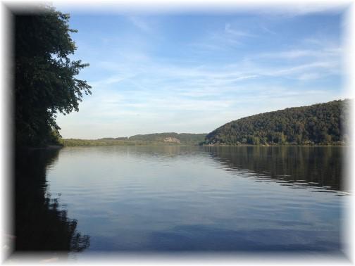 Sunset on Susquehanna River 9/24/15