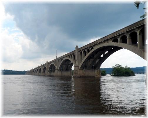 Veterans Memorial Bridge, Columbia, PA 6/30/13