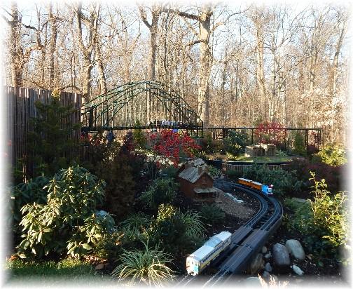 Train at Longwood Gardens 12/19/14