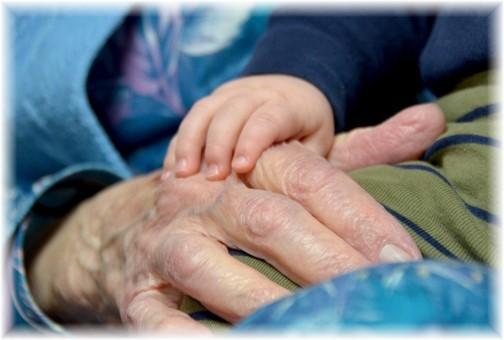 Hands (photo by Doris High)