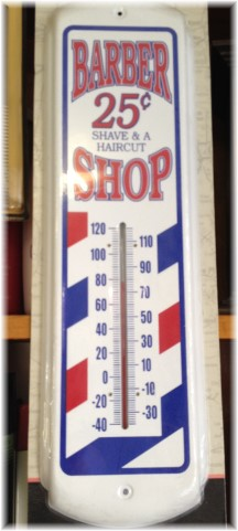 Barber thermometer