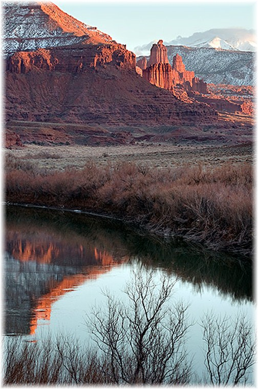 Fisher Towers in Canyonlands National Park, Utah (Howard Blichfeldt)