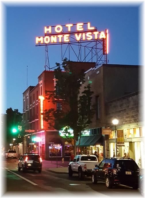 Flagstaff Monte Vista Hotel 7/5/16
