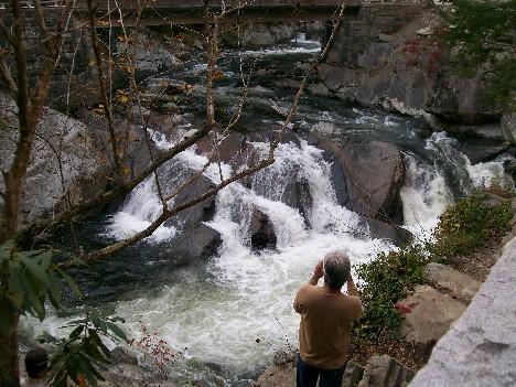 Mountain stream in Smoky Mountain National Park 10/28/10