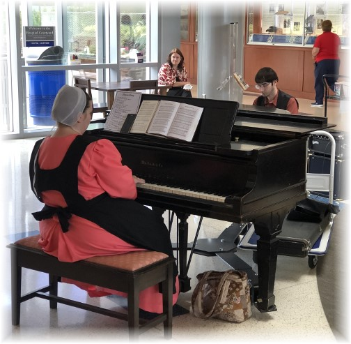 Hershey Medical Center pianist 6/5/18