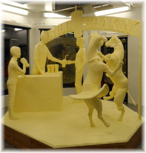 2014 Pennsylvania Farm Show butter sculpture