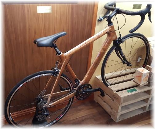 2016 Pennsylvania Farm Show wood framed bike 1/13/16