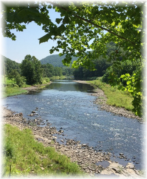 Pine Creek in Pennsylvania 8/16/15