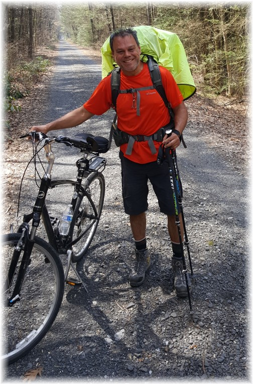 Appalachian trail hiker 4/11/17