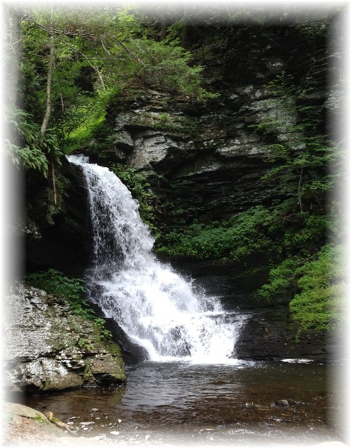 Bridesmaid's Falls at Bushkill Falls, PA 7/21/15